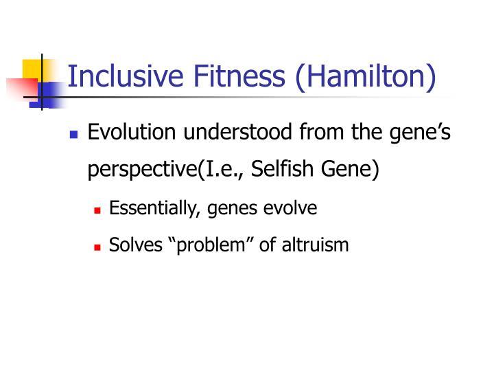 Inclusive Fitness (Hamilton)