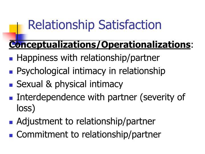 Relationship Satisfaction