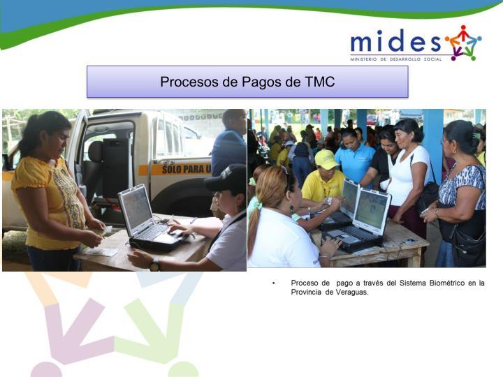 Procesos de Pagos de TMC