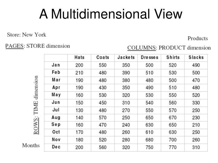 A Multidimensional View