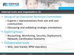 internal tools and organization 3