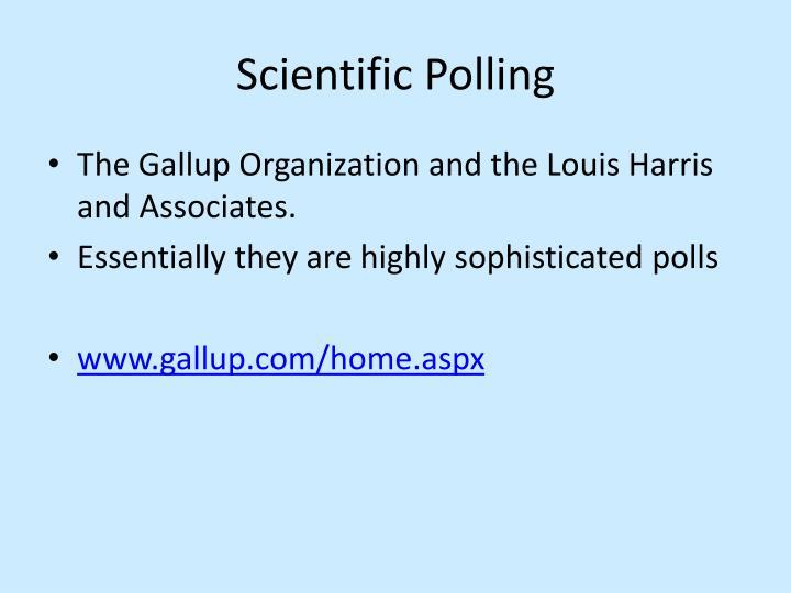 Scientific Polling