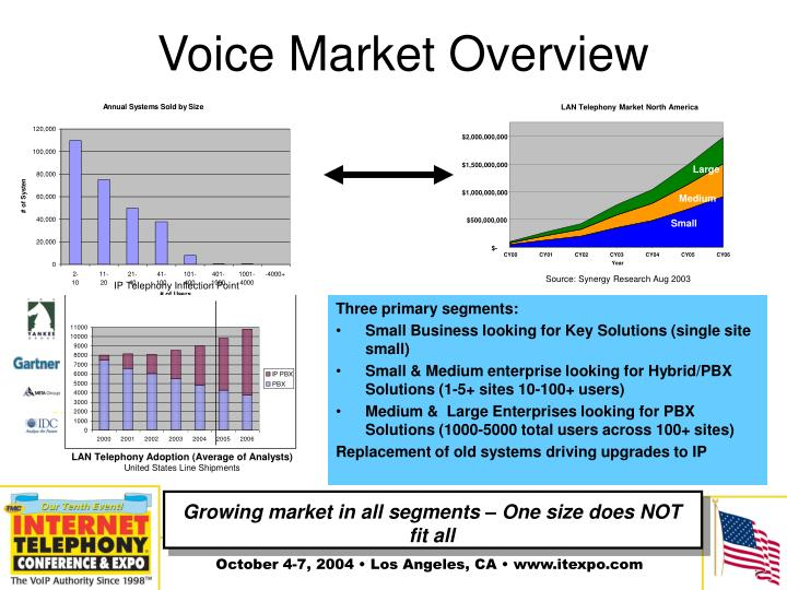 Voice market overview