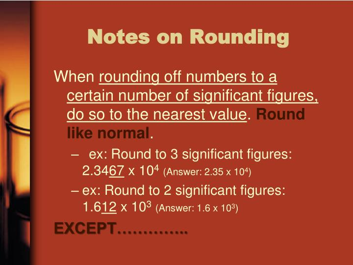 Notes on Rounding