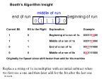 booth s algorithm insight