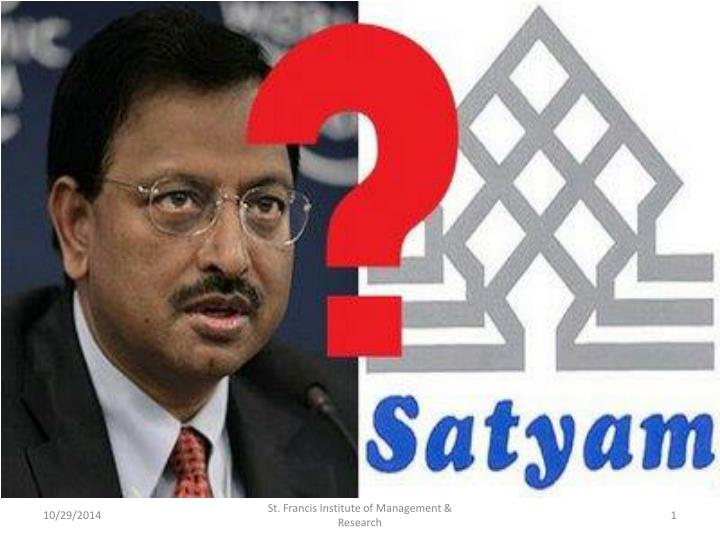 corporate governance review of satyam computer services Satyam computer services limited, based in india, overstated its profits and documented fictitious assets the case is known as india's enron ( atesci et al, 2010(rishi andsingh, 2011 and singh.