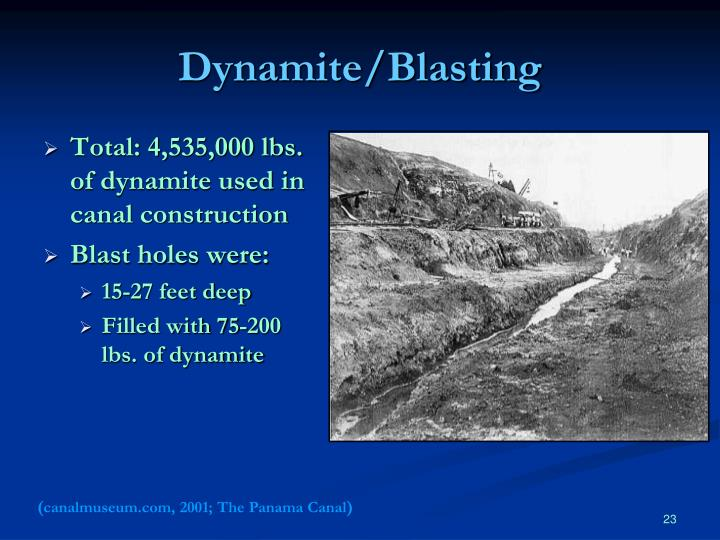 Dynamite/Blasting