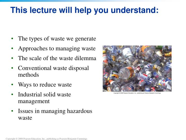 This lecture will help you understand