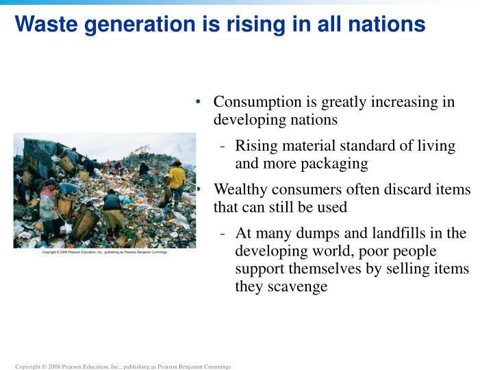 Waste generation is rising in all nations