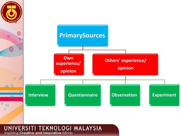 PrimarySources
