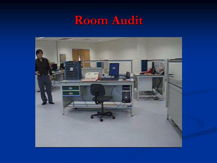 Room Audit