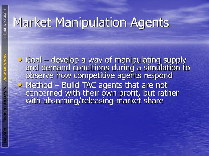Market Manipulation Agents