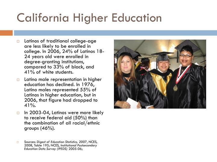 California Higher Education