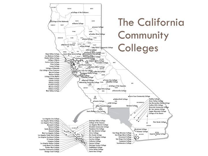 The California Community Colleges