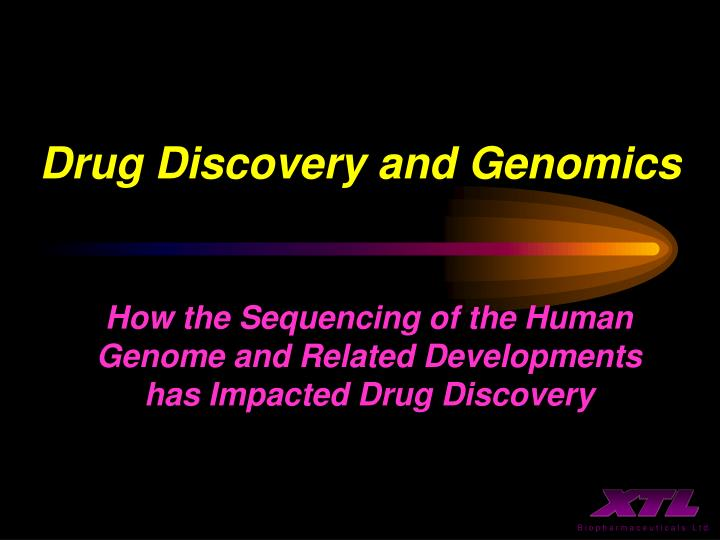 Drug discovery and genomics