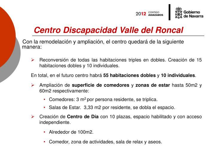 Centro Discapacidad Valle del Roncal