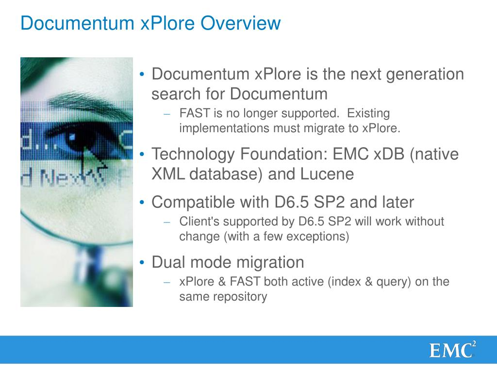 PPT - Documentum xPlore: Fundamentals and Troubleshooting
