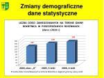 zmiany demograficzne dane statystyczne1
