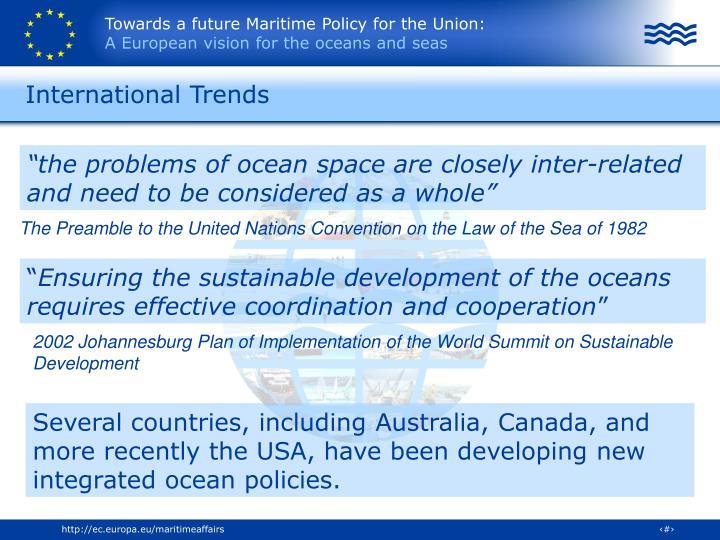 International trends