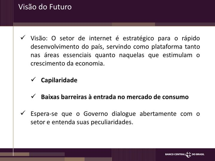 Visão do Futuro
