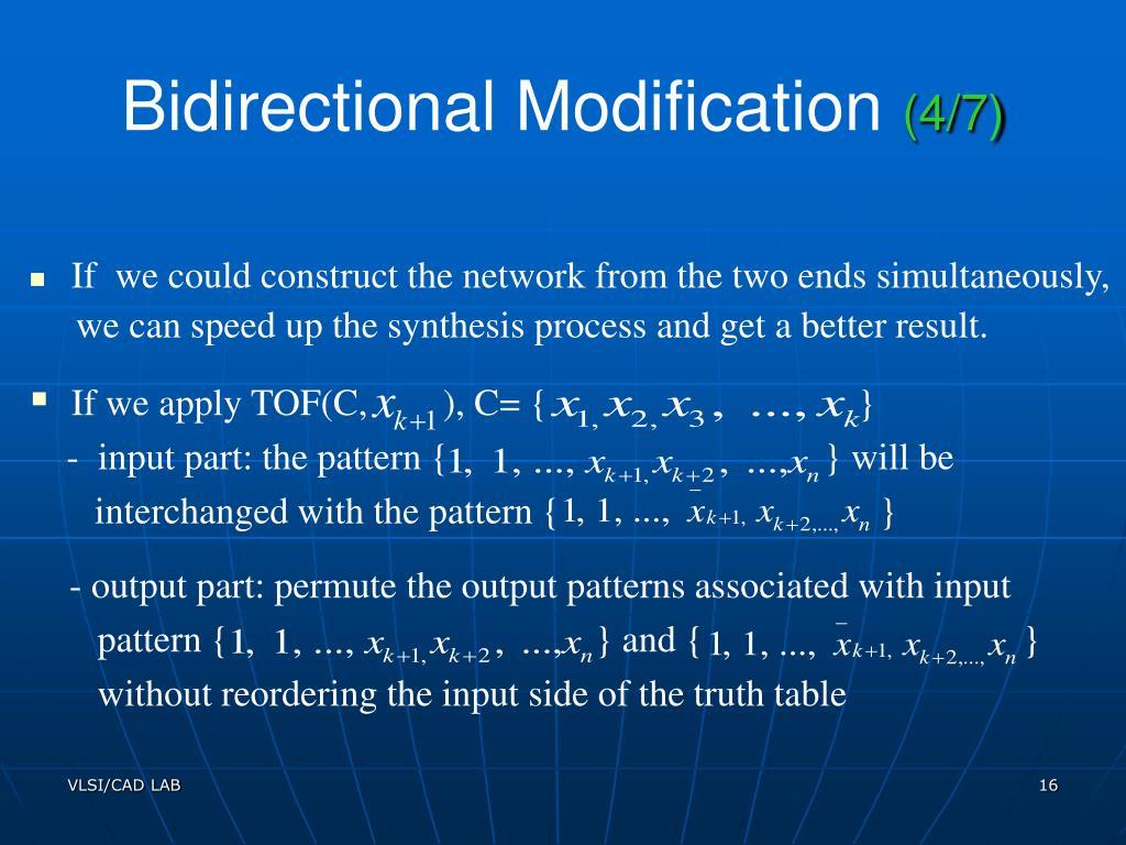 PPT - A Transformation Based Algorithm for Reversible Logic