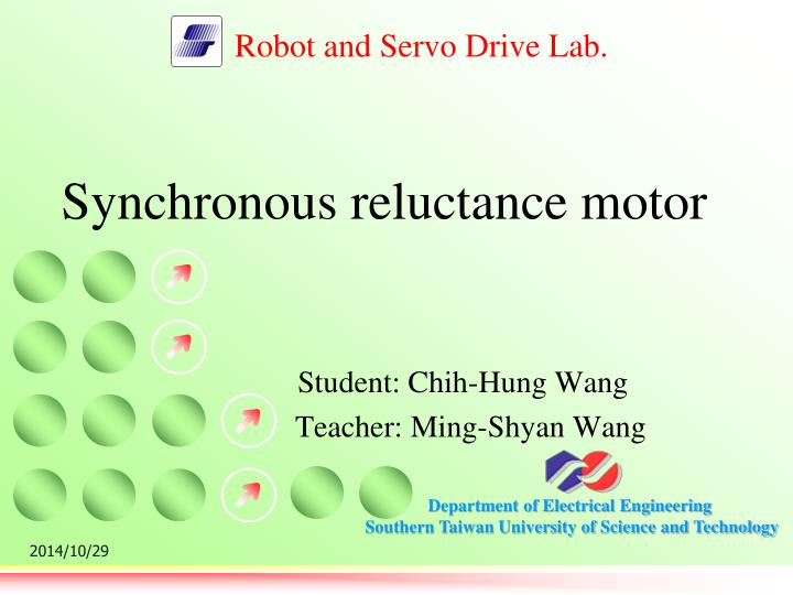 synchronous reluctance motor n.