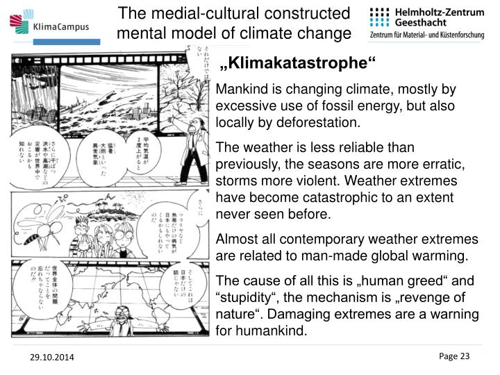 The medial-cultural constructed