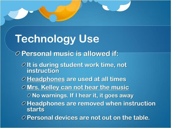 Technology Use
