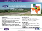 case study mid tex cellular