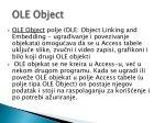 ole object