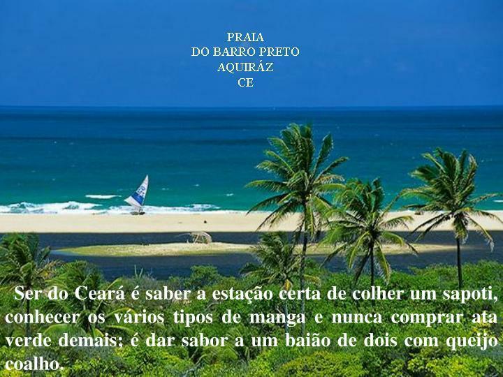 Ser do Ceará é saber a estação certa de colher um sapoti, conhecer os vários tipos de manga e n...