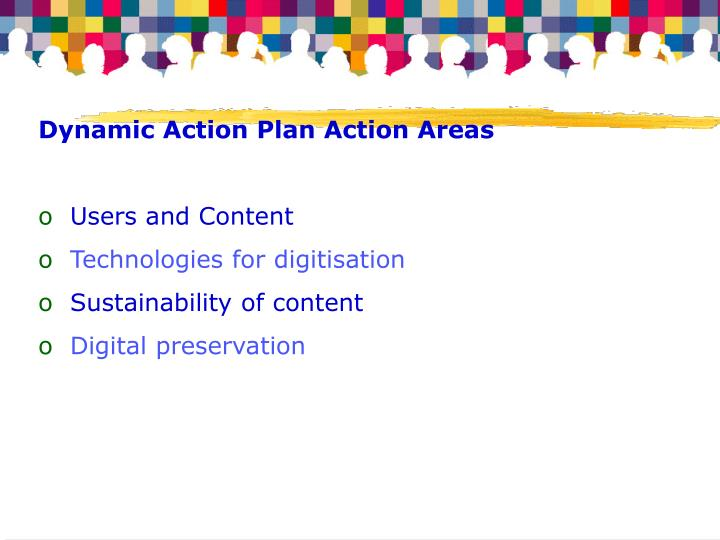 Dynamic Action Plan Action Areas