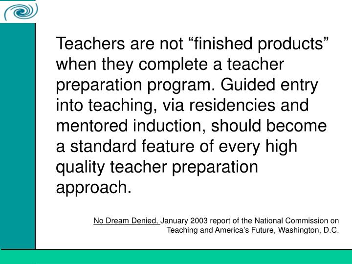 effects of teacher induction mentoring programs on 2 mentoring programs are often described as new teacher induction and may involve services other than mentoring, (eg, a workload reduction) i use the term mentoring for simplicity, because it is the most common.