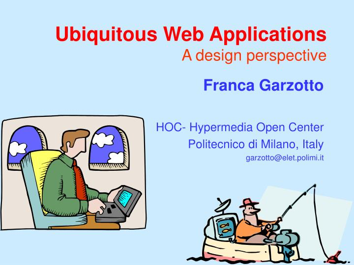 ubiquitous web applications a design perspective n.