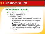 9 1 continental drift1