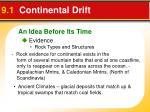 9 1 continental drift2