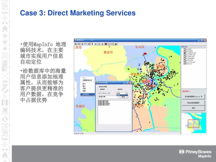 Case 3: Direct Marketing Services