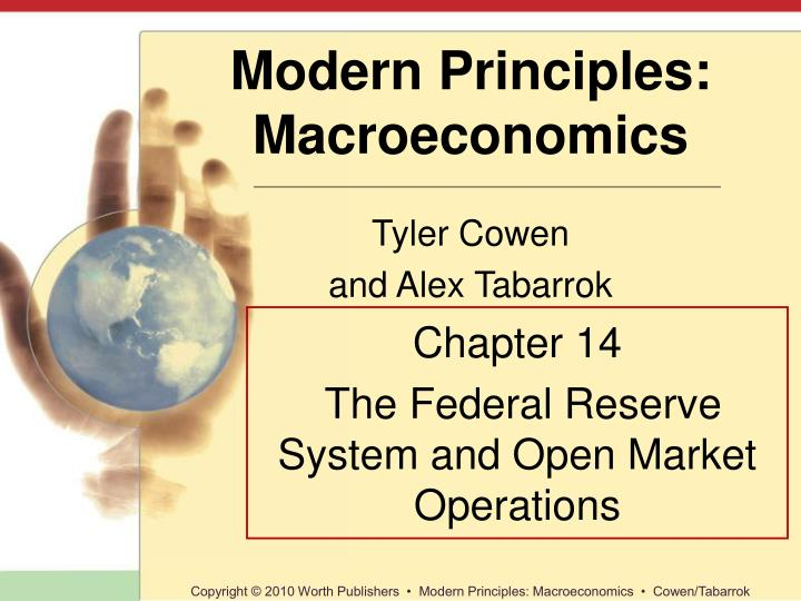 chapter 14 the federal reserve system and open market operations n.