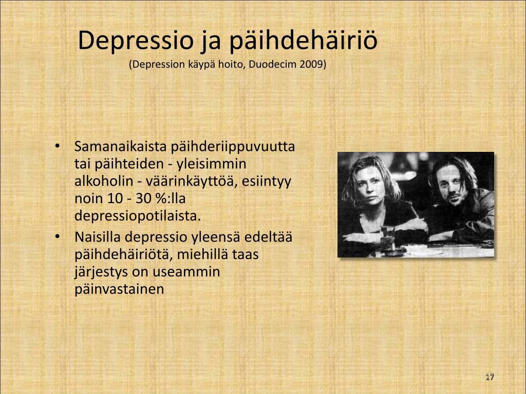 Käypä Hoito Depressio