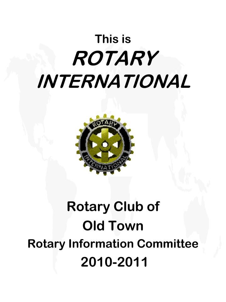 this is rotary international n.