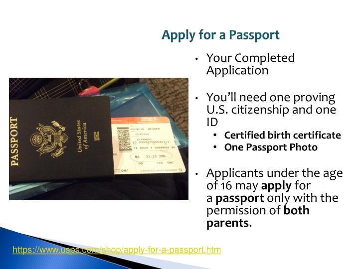 Apply for a Passport