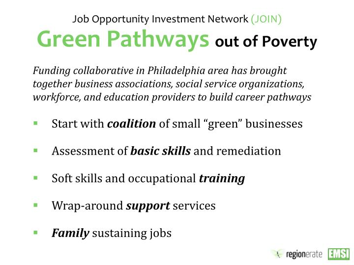 Job Opportunity Investment Network