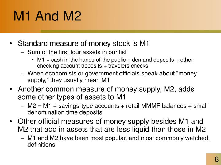 M1 And M2