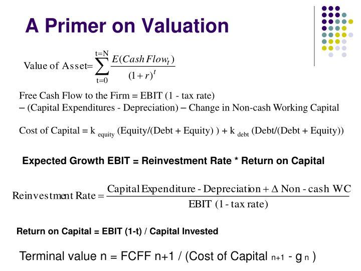 A Primer on Valuation