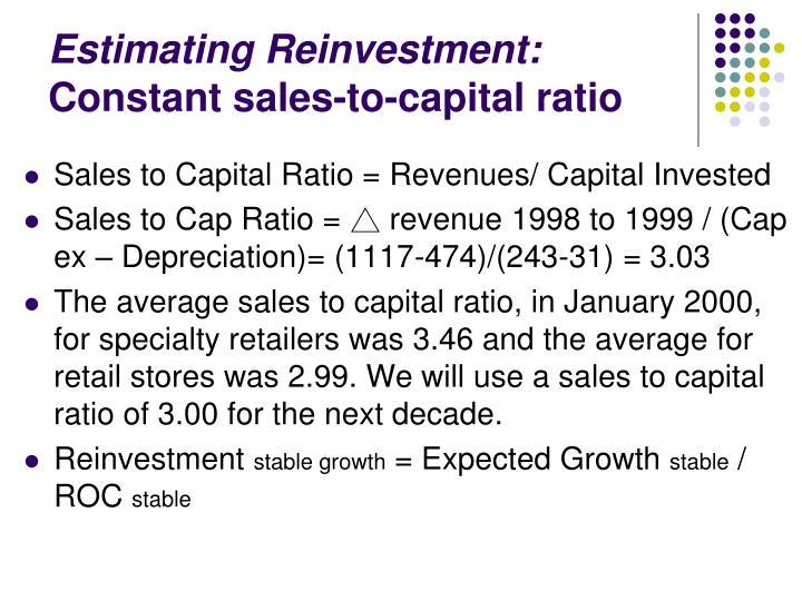 Estimating Reinvestment: