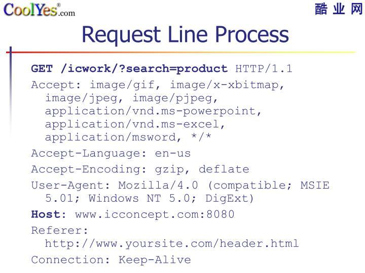 Request Line Process