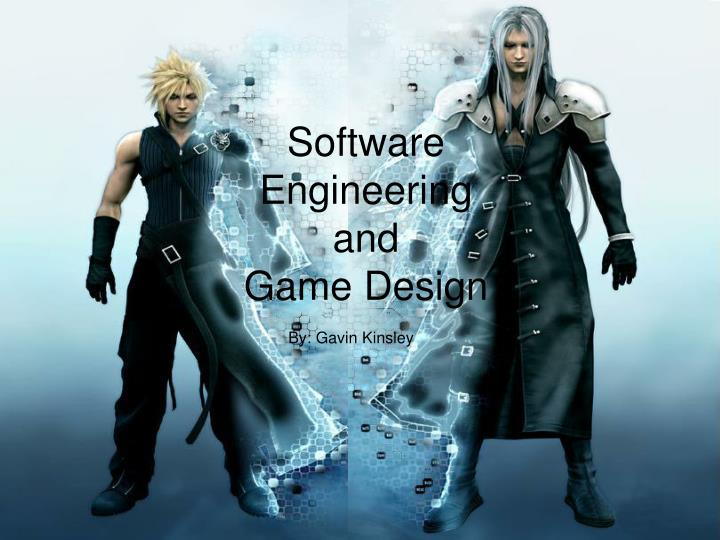 Ppt Software Engineering And Game Design Powerpoint Presentation Free Download Id 5968116