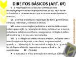 direitos b sicos art 61