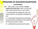 problemas de qualidade quantidade1
