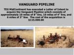 vanguard pipeline